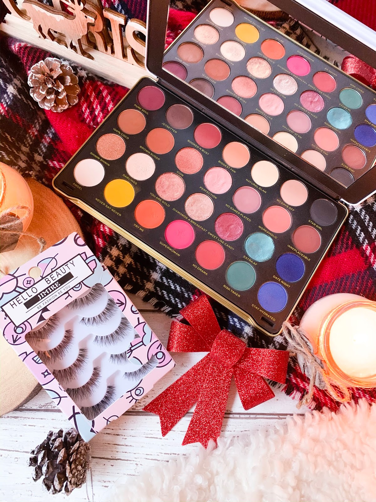 Christmas Gift Guide For Her 2019 Makeup Flatlay