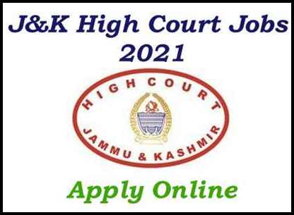 J&K High Court Recruitment 2021: Apply Online for Readers 04 Posts [Direct Quota]