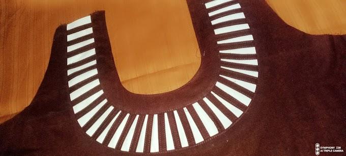 সুতি কাপরের ব্লাউজ নতুন ডিজাইন কাটিং সেলাই। ব্লাউজ এর গলার ডিজাইন নিউ।