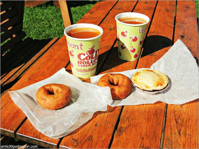 Desayuno en la Cold Hollow Cider Mill, Vermont