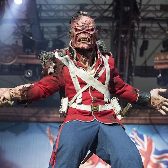 Eddie está muito ansioso pelo início da nova turnê do Iron Maiden
