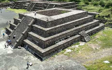 Teotihuacan piramide luna