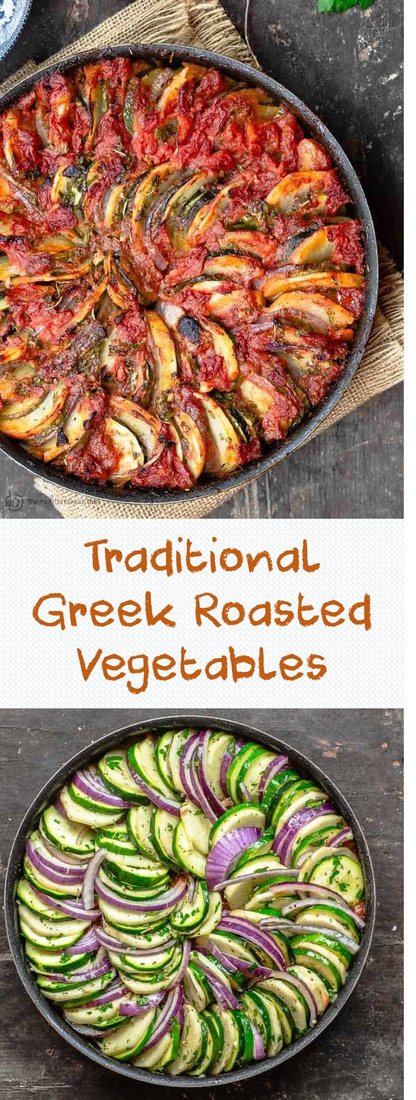 Traditional Greek Roasted Vegetables