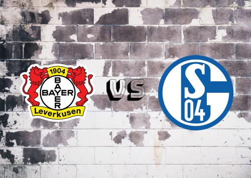 Bayer Leverkusen vs Schalke 04  Resumen