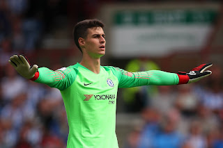 Kepa Believes he's played last game for Chelsea
