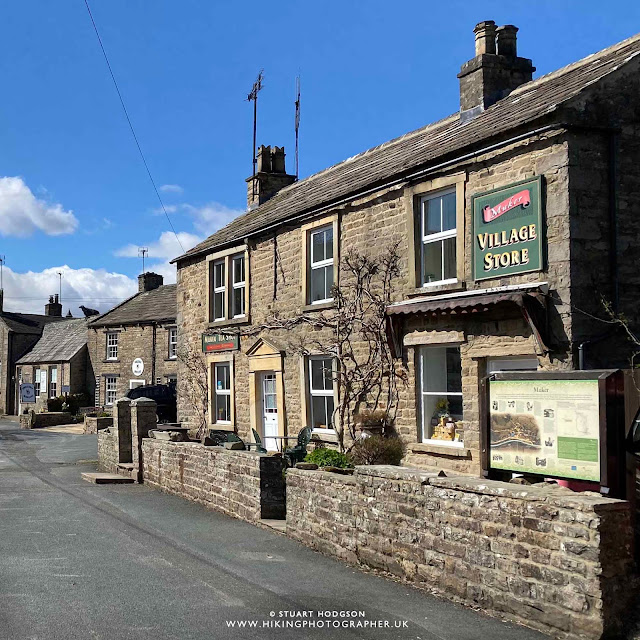 Muker village yorkshire dales holiday cottages shop store