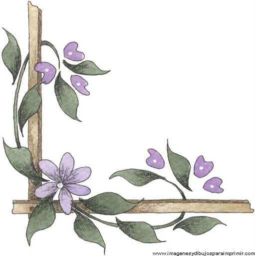 Bordes para decorar hojas nuevas im genes imagenes y - Decorar esquinas ...