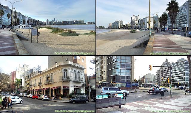 Pocitos, bairro, praia e rambla | Montevidéu