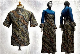 Model Baju Batik Muslim Terbaru Batik Indonesia