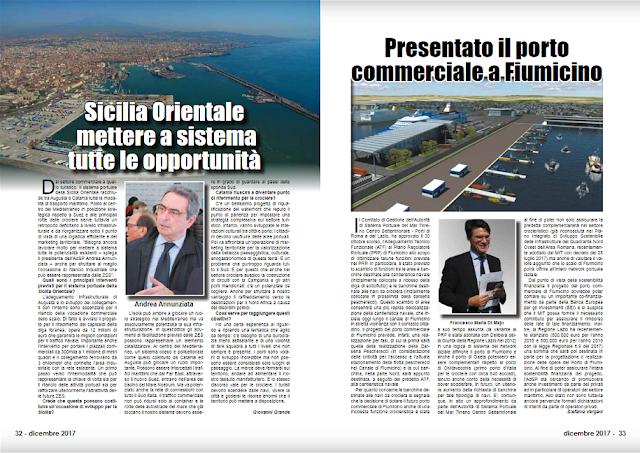 DIC 2017 PAG 32 - Presentato il porto commerciale a Fiumicino