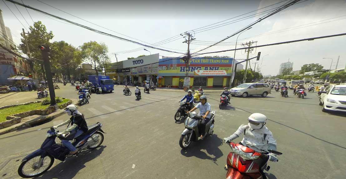 Góc đường Tô Hiến Thành và Thành Thái nối dài