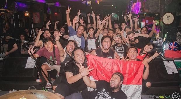 Band Metal Tanah Air Jadi Primadona di Negeri Orang