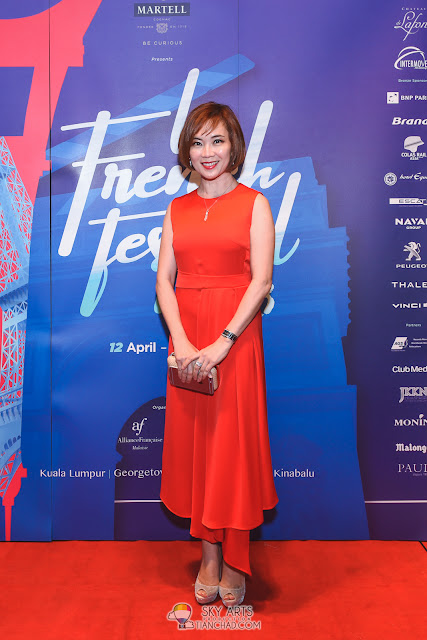 Le French Film Festival 2018 Launching at GSC Pavilion KL, Malaysia - Ms Koh Mei Lee Chief Executive Officer Golden Screen Cinema