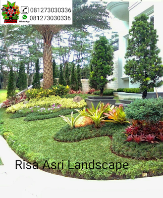 cv. risa asri landscape gambar taman, taman minimalis, taman tropis batu, roof garden, taman atap