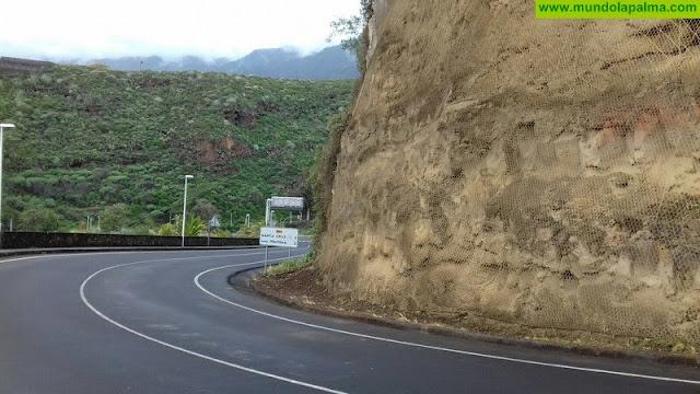 Reabierto el carril de la LP-1 entre el IES Virgen de Las Nieves y la rotonda de Mirca