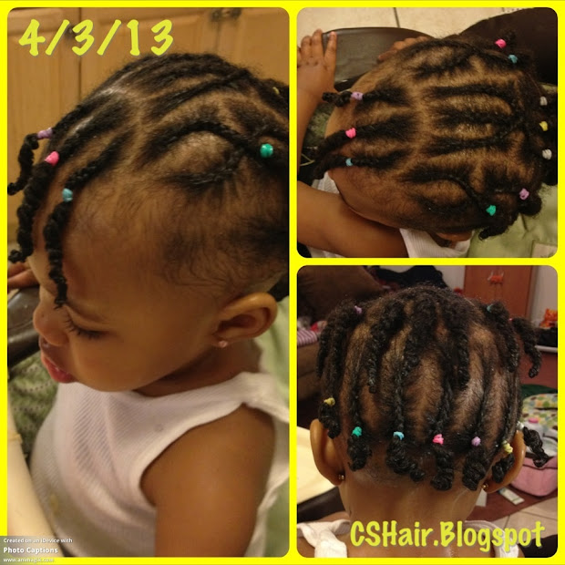 hairstyle #13 cornrows & twists