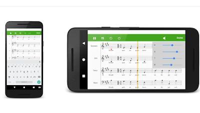 تطبيق Score Creator: write music, compose sheet music