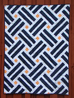 Laying Tracks quilt pattern