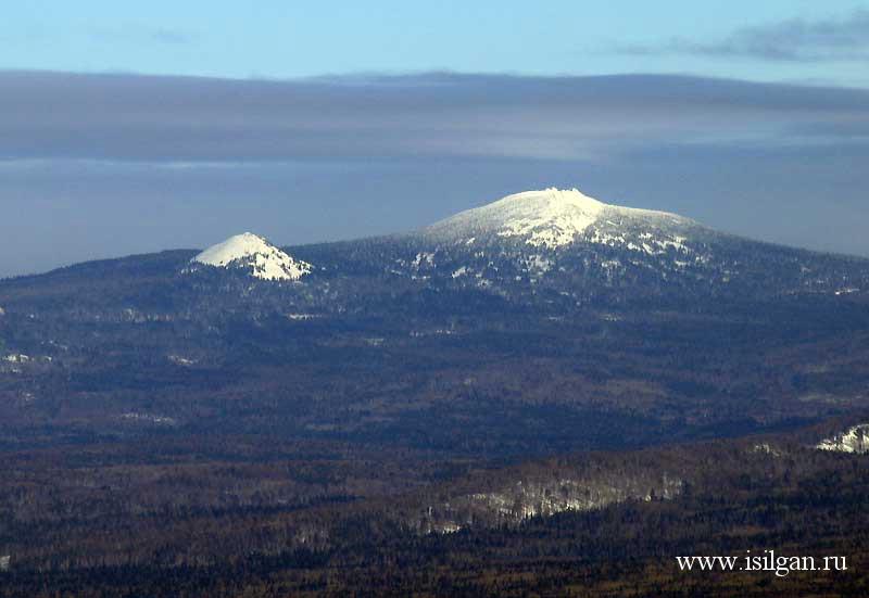 Гора 1175 - высшая точка хребта Зюраткуль. Национальный ...