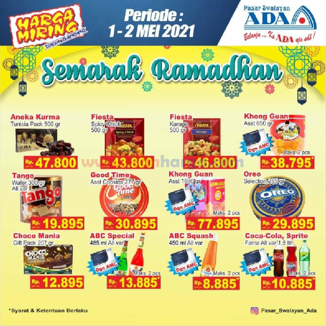 Katalog Promo ADA Swalayan Terbaru 1 - 2 Mei 2021 1