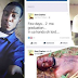 Nigerian cultist who was shot dead few days to his graduation, buried in cultist regalia (graphic photos)