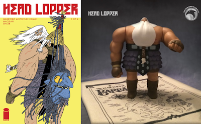 "Head Lopper Norgal 9"" Vinyl Figure by Andrew MacLean x Skelton Crew Studio - Original Edition"