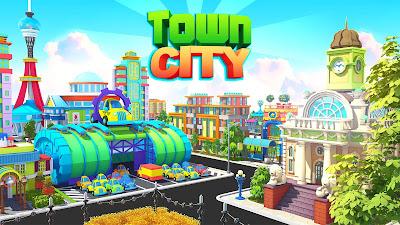 TOWN CITY – VILLAGE BUILDING SIM PARADISE GAME (MOD, UNLIMITED MONEY)