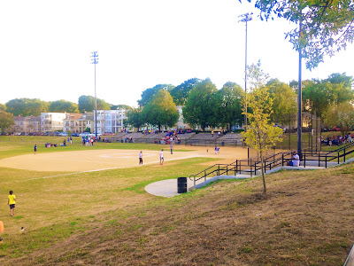 Softball Tournament at Healey Field in Roslindale