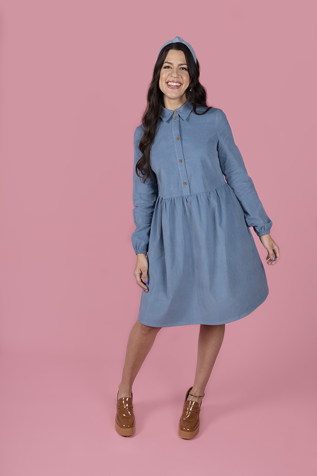 Fitting the Lyra Shirt Dress - Tilly and the Buttons