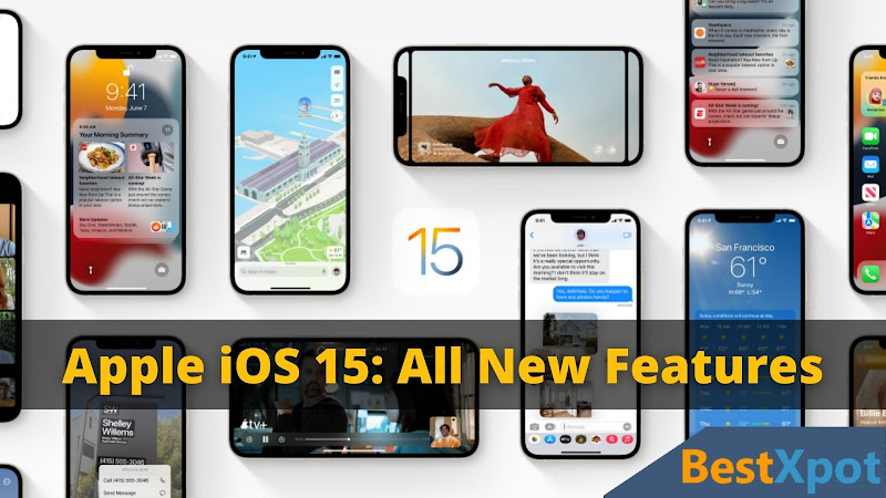 Featured image of Apple iOS 15 article