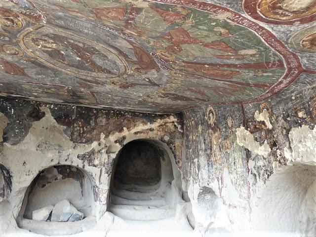 affreschi chiesa san giorgio valle di ihlara