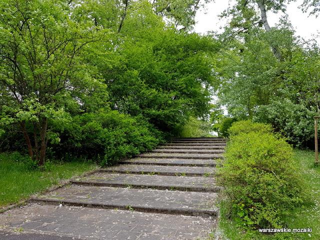 teren zielony parki warszawskie Warszawa Warsaw Bielany Żoliborz lata 60.