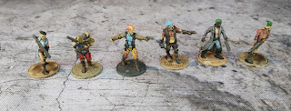 Warlord Games Punks and Gang members for Judge Dredd