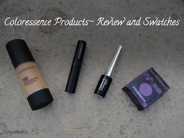 Coloressence products Review Swatches