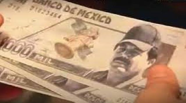 El Mayo Zambada crea sus propios billetes con su cara y esto es lo que valen en dólares