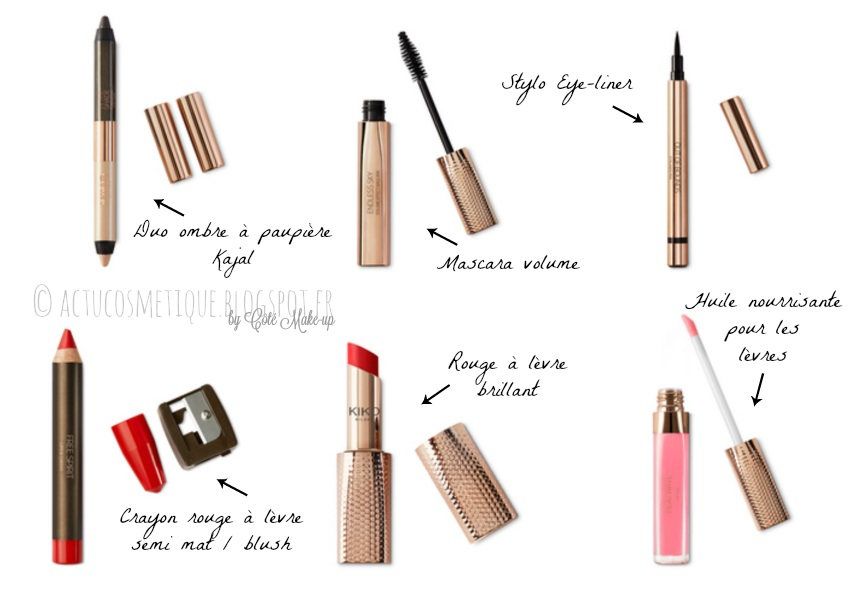 kiko wanderlust maquillage actu cosmétique