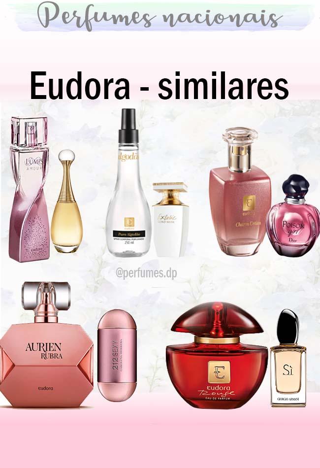 Perfumes similares da Eudora
