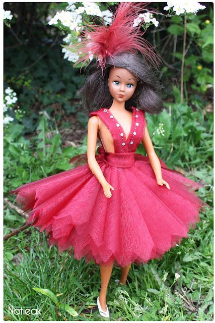 DIY Robe de cérémonie  pour dolls