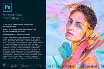 Adobe Photoshop CC 2018 Free Download with Crack