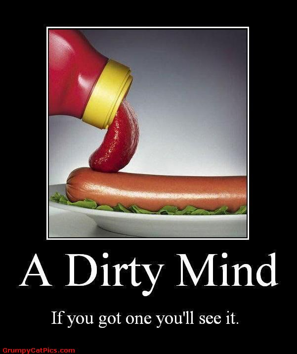 All Photos in One Blog: Dirty mind picture test