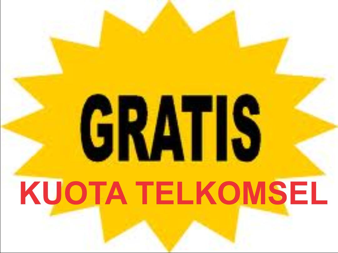 Cara mendapatkan kuota gratis Telkomsel 2021 ( Terlengkap )