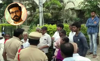 Uyyalavada-Narasimha-Reddy-Family-Protest-Andhra-Talkies