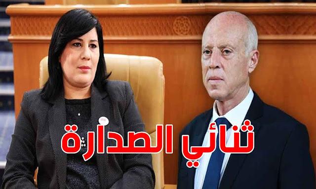 Tunisie - Sondage Emrhod : Kaïs Saïed et le PDL Abir Moussi en tête des intentions de vote