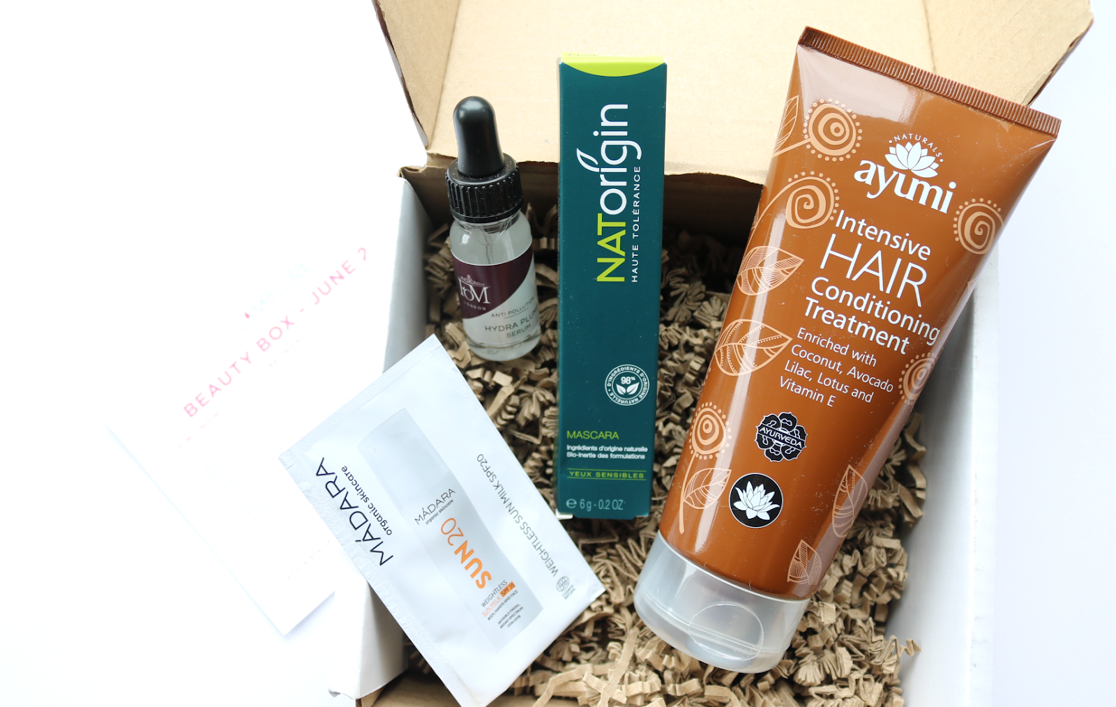 LoveLula Beauty Box - June 2019 review