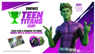 The Beast Boy also joins the fight in Fortnite