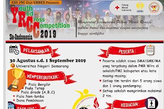 KSR PMI Unit UNNES kembali selenggarakan YRCC se-Indonesia 2019