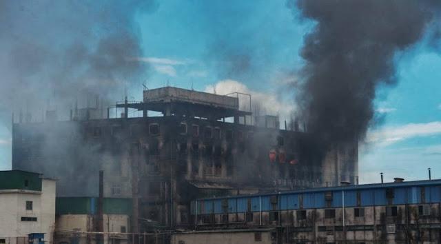 Sedikitnya 49 orang Tewas akibat Kebakaran di Pabrik Pangan di Bangladesh