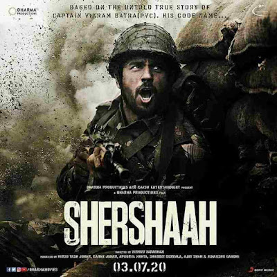 Shershaah (2020) Bollywood Movie Cast & Crew, Trailer, Release Date, Budget, Genres, Box Office, Poster, Wiki, Songs