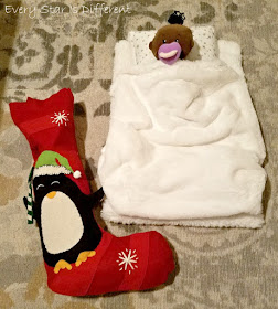 African American Doll with Montessori Bed for Christmas