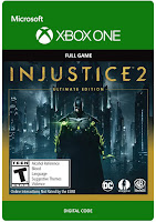 Injustice 2 Game Cover Xbox One Ultimate Edition